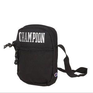 Champion Neighborhood small crossbody bag black